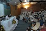 Participação da Profa. Margarida de Souza Neves no painel História, Memória e Testemunho. Fotógrafo Antônio Albuquerque.