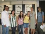 Equipe do Núcleo e Joice Cardoso, do InfoGlobo.