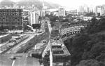 Vista do Conjunto Habitacional Marquês de São Vicente a partir do alto do Ed. Cardeal Leme. 1979. Fotógrafo Alfredo Jefferson. Acervo Núcleo de Memória.