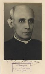 Padre Leonel Franca S.J.. Fotógrafo desconhecido. Acervo Núcleo de Memória.