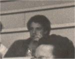 O Prof. Everardo Rocha em 1980, no Auditório do RDC. Fotógrafo Antônio Albuquerque. Acervo Núcleo de Memória.