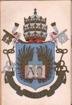Versão do brasão da PUC-Rio no Anuário 1952.