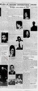 Correio da Manhã, 31/12/1960, p. 5, Hemeroteca Digital da Biblioteca Nacional.