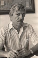 O Prof. Erlane em 1981.