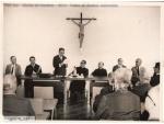 Posse de Garrido Torres (de pé) como Vice-Reitor de Desenvolvimento, 10/01/1968. Ao lado dele, ao centro, o Reitor Pe. Laércio DIas de Moura S.J.