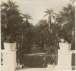 Vista dos jardins a partir do Solar Grandjean de Montigny. c. 1930. Fotógrafo desconhecido. Acervo Solar Grandjean de Montigny.