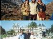Marcos da Silveira à esquerda e Roland Scialom à direita nas duas fotos; a primeira em Agulhas Negras, no Estado do Rio de Janeiro, e a segunda em Paris, França, ambas sem data. Acervo Prof. Roland Scialom.